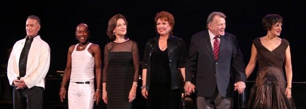 Sammy Williams, Ron Dennis, Kelly Bishop, Donna McKechnie, Larry Bank & Priscilla Lopez