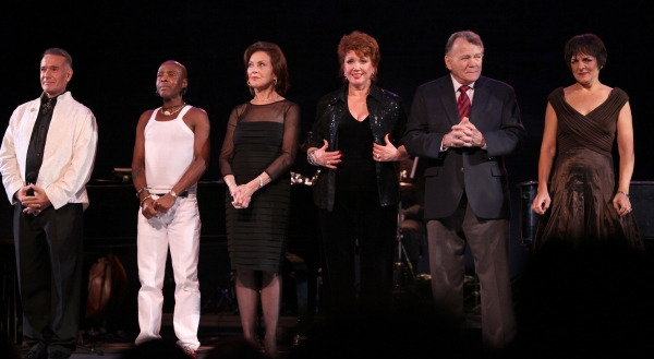 Sammy Williams, Ron Dennis, Kelly Bishop, Donna McKechnie, Larry Bank & Priscilla Lopez