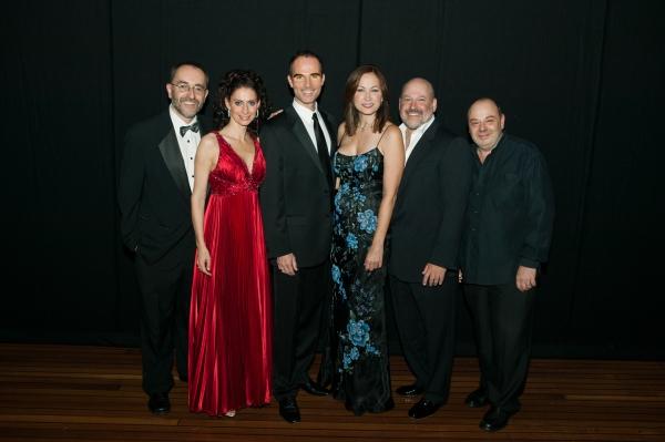 Michael Staringer, Pia Douwes, Thomas Borchert, Linda, Frank, Koen Schoots Photo