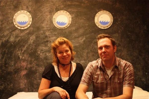 Cathy Curtin and Moritz von Stuelpnagel