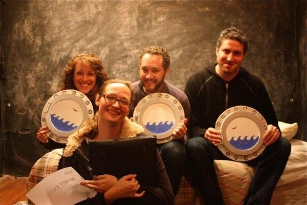 Rising Phoenix Rep Artistic Associates Samantha Soule, Addie Johnson-Talbott, Denis Butkus and Brian Roff