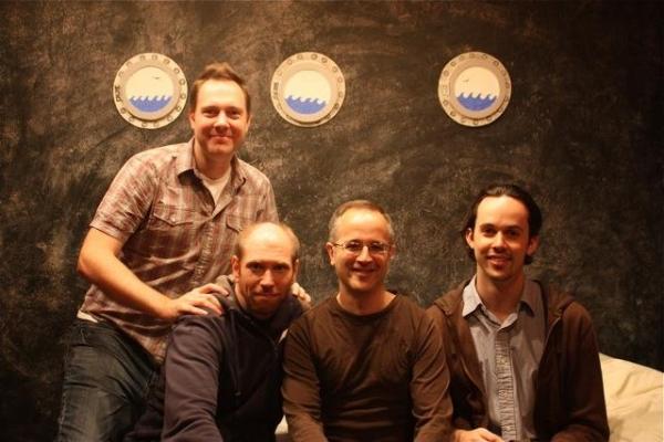 Moritz von Stuelpnagel, Jeffrey Nauman, Gary Sunshine and Jimmy Davis Photo