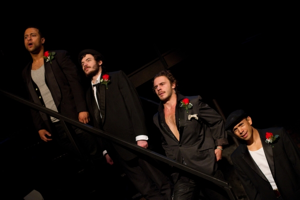 Jamal Lee Harris as Chain-Saw Bob, Sean Lally as Crook-Fingered Jake, Sebastian Naskaris as Ned and Doug Hara as Jimmy