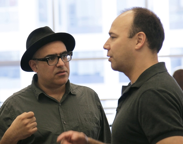 Photo Coverage: WOMEN ON THE VERGE in Rehearsal