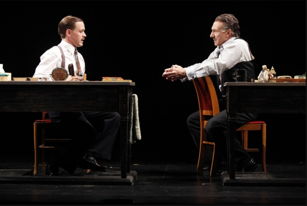 Photo Flash: A LIFE IN THE THEATRE on Broadway!