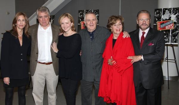 Jacki Barlia Florin, David Thompson, Susan Stroman, John Kander, Fran Weissler & Barry Weissler