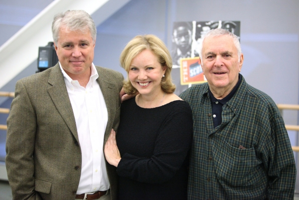 David Thompson, Susan Stroman and John Kander