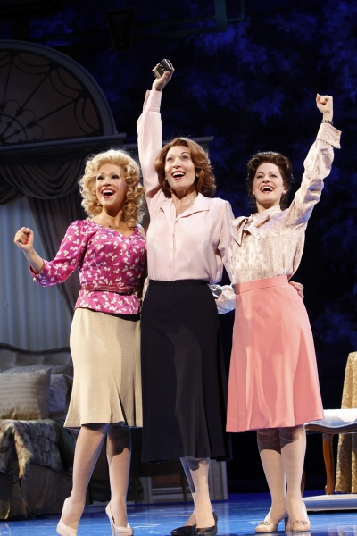 Diana DeGarmo as Doralee, Dee Hoty as Violet, and Mamie Parris as Judy at 9 to 5: The Musical on Tour!