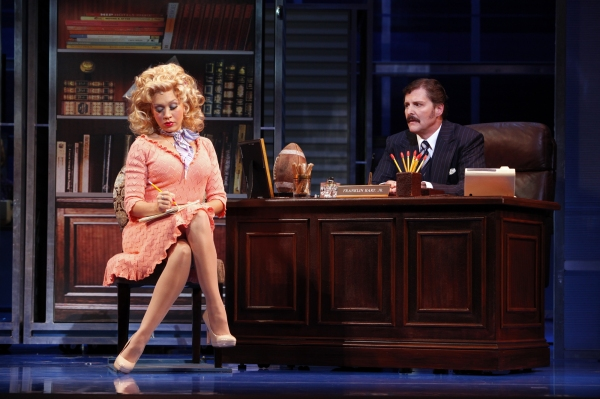 Diana DeGarmo and Joseph Mahowald at 9 to 5: The Musical on Tour!