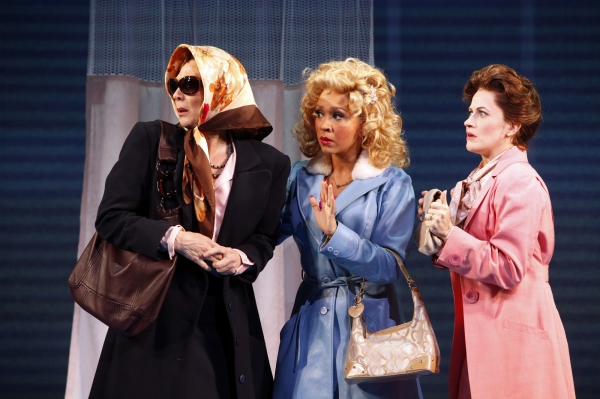 Dee Hoty as Violet Newstead, Diana DeGarmo as Doralee Rhodes and Mamie Parris as Judy Bernly  at 9 to 5: The Musical on Tour!
