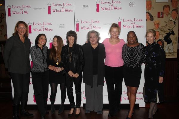 Judy Gold, Didi Conn, Natasha Lyonne, Nora Ephron, Jayne Houdyshell, Caroline Rhea, Sherri Shepherd and Daryl Roth