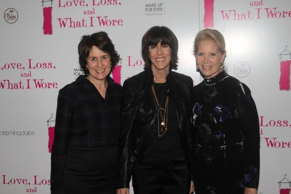 Delia Ephron, Nora Ephron and Daryl Roth