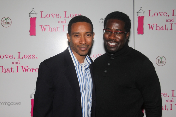 Charles Randolph Wright and Daniel Beaty at LOVE, LOSS Welcomes October Cast