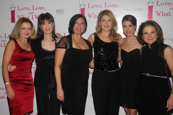 Allison Fraser, Barbara Feldon, Karen Carpenter, Victoria Clark, Ashley Austin Morris and Tovah Feldshuh