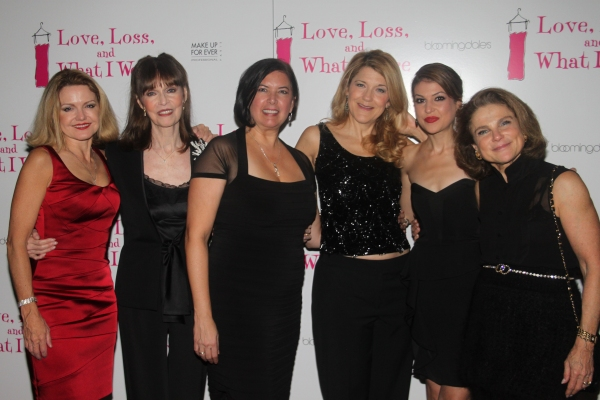 Allison Fraser, Barbara Feldon, Karen Carpenter, Victoria Clark, Ashley Austin Morris and Tovah Feldshuh at LOVE, LOSS Welcomes October Cast