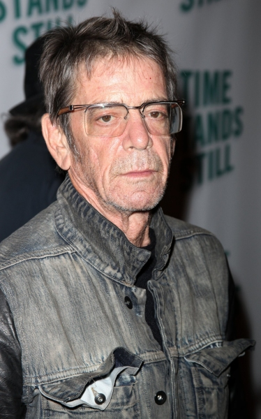 Lou Reed at TIME STANDS STILL Red Carpet