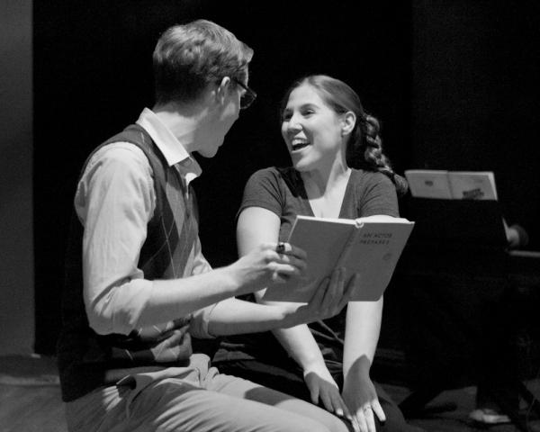 Tyler Davis and Anna Schutz