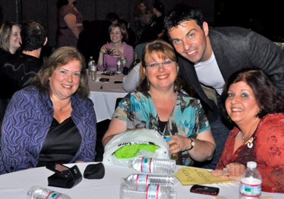 High Res Sue Kron, Lynette Terjesen, Ryan Kelly and Meg Paolini