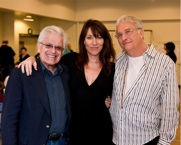 Jerry Zaks, Katey Sagal and Randy Newman at HARPS & ANGELS in Rehearsal at Mark Taper Forum
