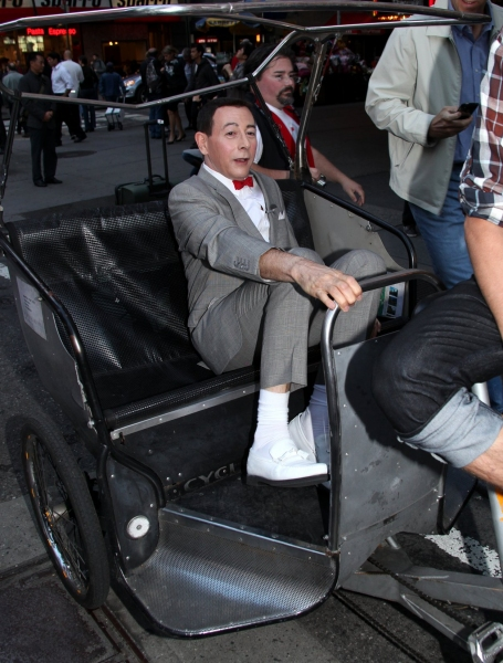 PEE-WEE Takes Times Square!