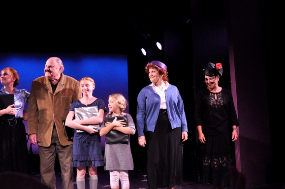Jacquelyn Piro Donovan, George S. Irving, Juliette Allen Angelo, Tanner Tompkins,  Ba Photo