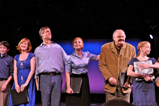 Zach Landes, Erin Mackey, Howard McGillin, Jacquelyn Piro Donovan, George S. Irving and Marissa O'Donnell