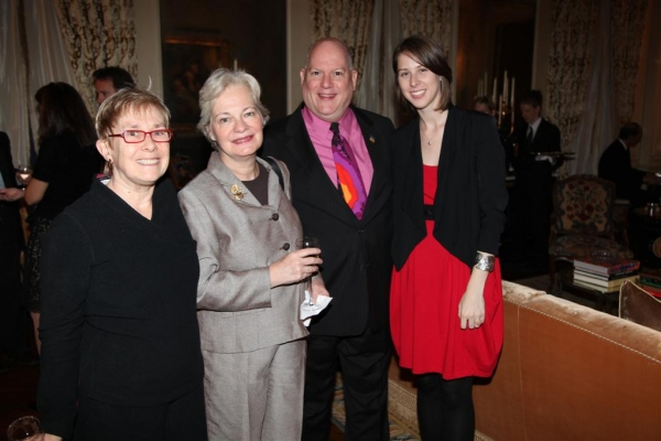 Marjorie Horne, Louise Foisy, Davia Westphal, Kristine Bruch