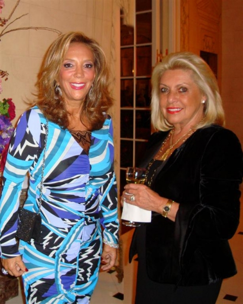 Denise Rich and Louise Kornfeld at Kickoff of Career Transition For Dancers' 25th Anniversary Silver Jubilee