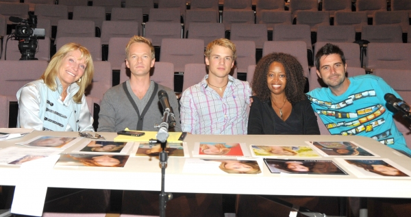 Bonnie Lythgoe, Neil Patrick Harris, Freddie Stroma, Jennifer Leigh Warren & Benny Harris at The El Portal Theatre