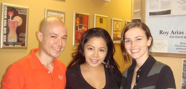 Joel Trinidad, Emerita Alcid, Kristen Howard