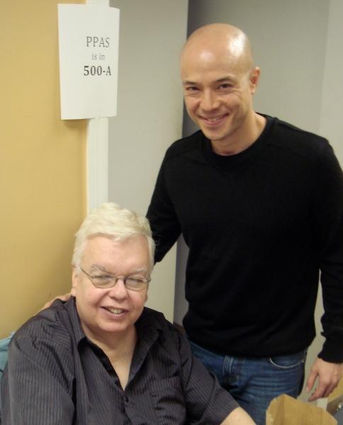 John Chatterton and Joel Trinidad Photo