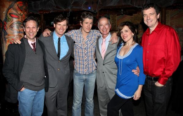 Stephen Hope, Graham Stuart Allen, Zach Wegner, John-Charles Kelly, Rita Rehn & Frank Photo