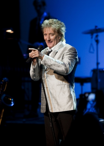 Rod Stewart at Rod Stewart Takes The Stage At Aventura Arts & Cultural Center