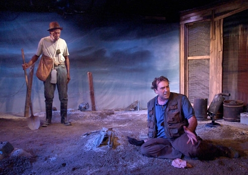 Photo Flash: Athol Fugard's THE TRAIN DRIVER At The Fountain Theater