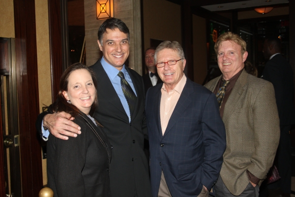 Robert Cuccioli and the Westchester Broadway Theatre Folks: Lisa Tiso, Robert Funking and Bill Stutler