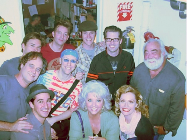 Photo Flash: Paula Deen Visits MILLION DOLLAR QUARTET