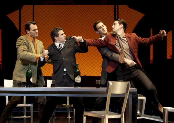 Photo Flash: New JERSEY BOYS on Broadway!