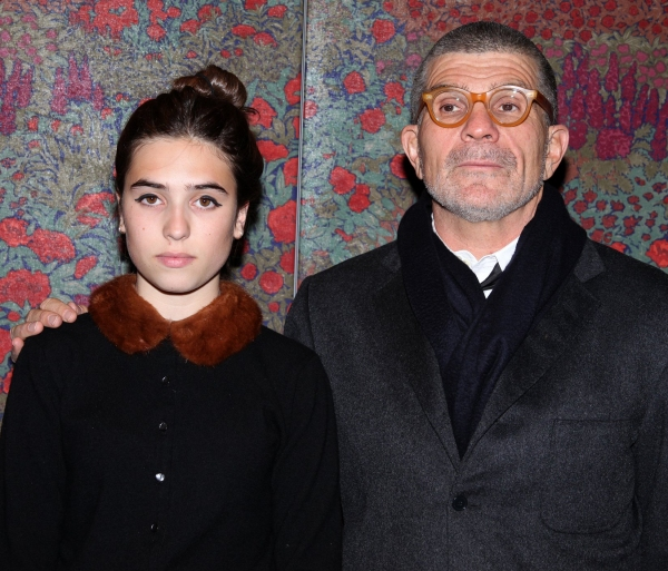 Clara Mamet and David Mamet at A LIFE IN THE THEATRE Opening Night After Party