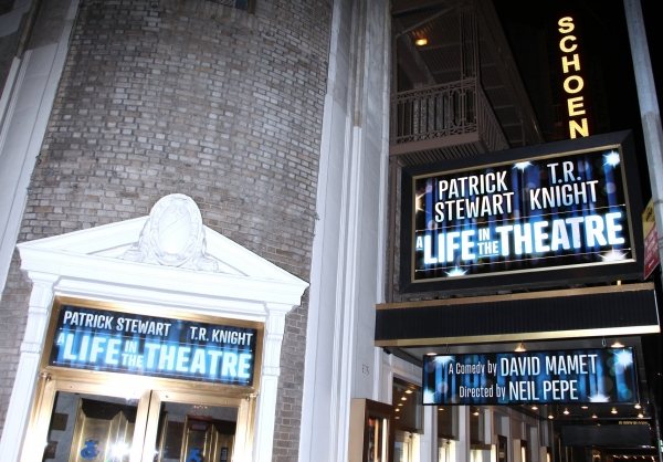 Photo Coverage: A LIFE IN THE THEATRE Opening Night Arrivals