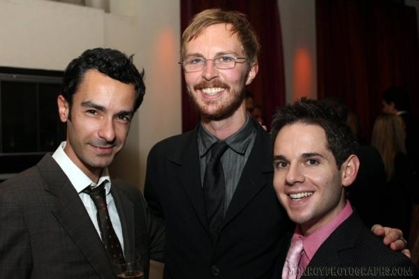 Omar Reyes, Wil Fisher, and Matt Levison Photo
