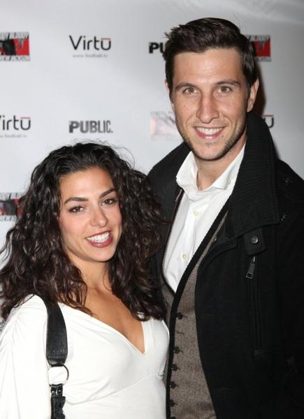 Jessica Monty and Pablo Schreiber  Photo