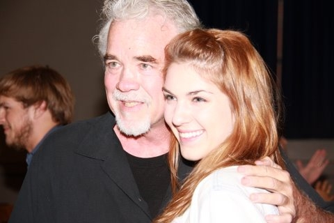 Gary Morris and Mariah Parris, who plays Fantine in the Hume-Fogg production of Les Miserables