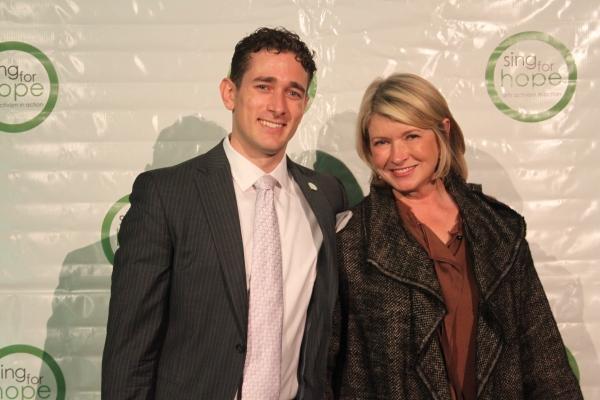 Christopher Herbert and Martha Stewart Photo