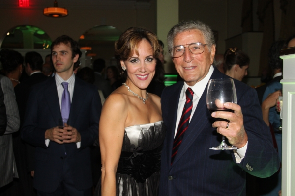 Janine LaManna and Tony Bennett