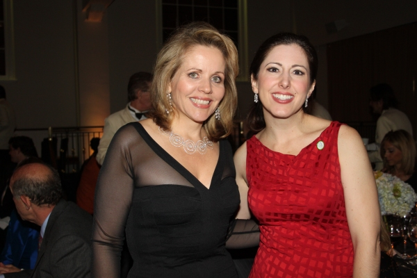 Renee Fleming and Camille Zamora at 2010 Sing for Hope Gala