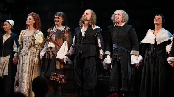 Photo Coverage: LA BETE Opening Night Curtain Call!
