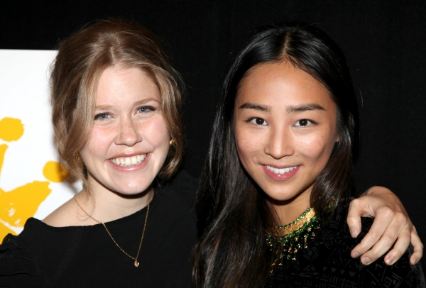 Lisa Joyce and Greta Lee
