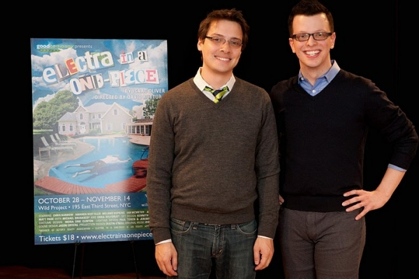 David Ruttura (director) and Isaac Oliver Photo