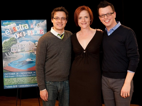 David Ruttura (director), Erika Rolfsrud and Isaac Oliver