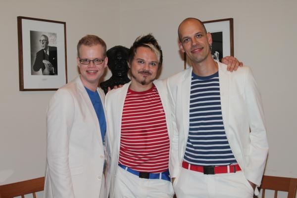 Ahti Paunu, Hannu Lepola and Jussi Chydenius